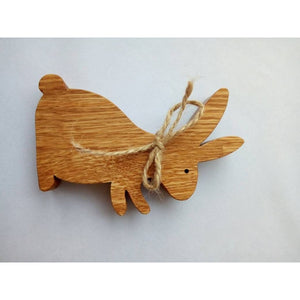 Easter Rabbit From Wood Gift For Kids Wooden Banny Decor Decorations Toys Animals Product