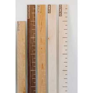 Personalized Gift Growth Chart - Wooden Nursery Decor - Kids Height Ruler Product