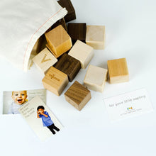 26 Piece Alphabet Blocks - Baby Shower Gift - Nursery - New - Decor - Wooden Product