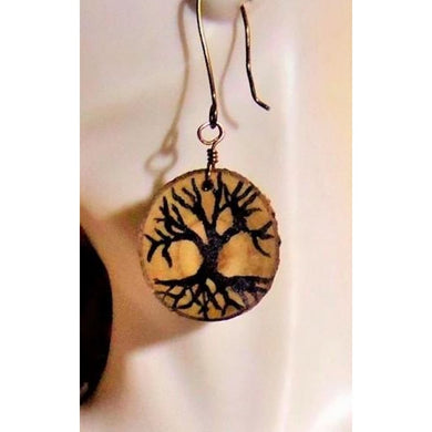 Earrings - Tree Of Life Jewelry - Wife Gift Mother Daughter Bracelet - Tree - Nature