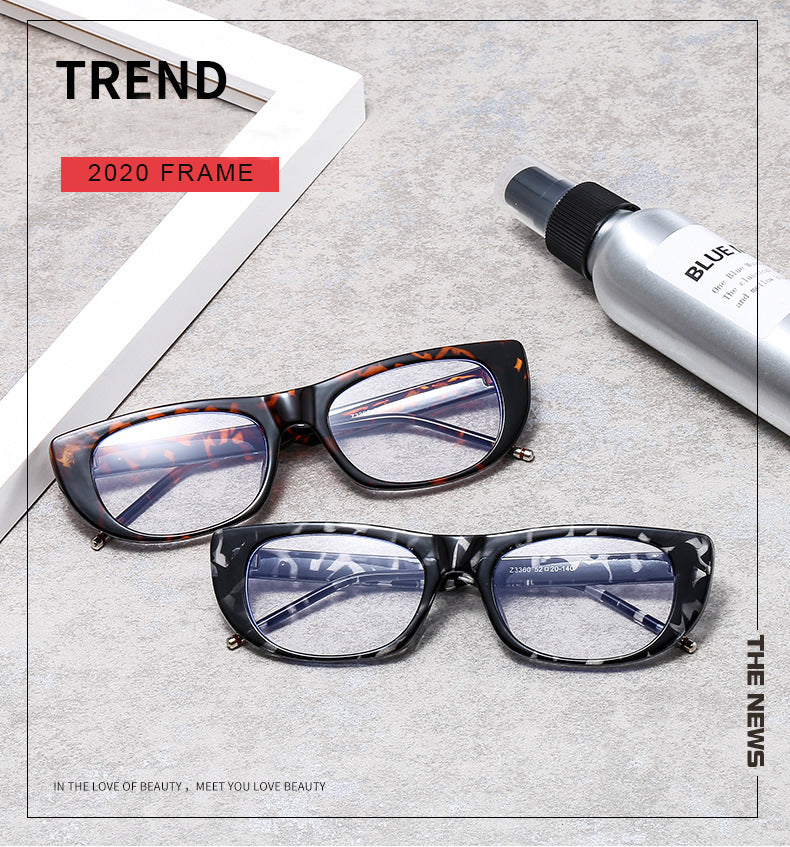 Calanovella Trendy Black Rectangle Wide Glasses Frame for Men Women 2020 Fashionable Rectangular Clear Lens Eyeglasses black clear,beige clear,zebra clear,leopard clear 29.99 USD