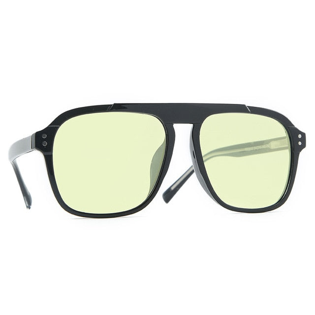 Calanovella Stylish Retro Square TR90 Polarized Sunglasses UV400