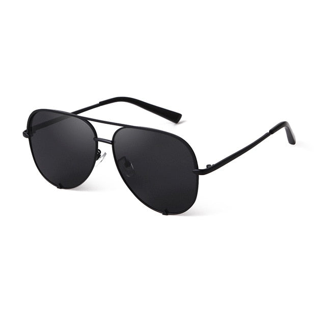 Calanovella Aviator Stylish Oversized Aviation Sunglasses for Men Women Vintage Flat Top Cool Pink Mirror Men Women's Pilot Sun Glasses UV400 black,black gray,gold gray,blue,brown,pink,silver,blue pink 39.99 USD