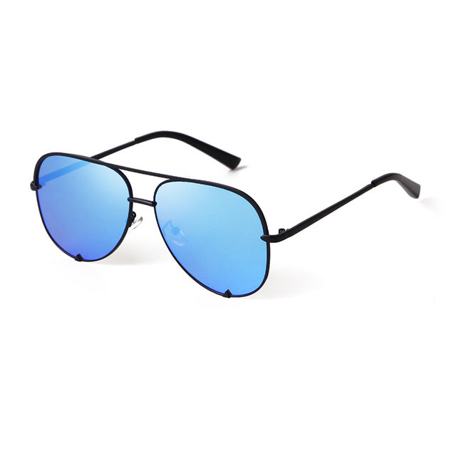 Calanovella Aviator Pilot Sunglasses Men Women Eighties Retro Vintage Flat Top Sun Glasses Pink Black Gradient Shades UV400 black,black gray,blue,gold gray,brown,gold pink,silver,blue pink,gold,silver pink 34.99 USD