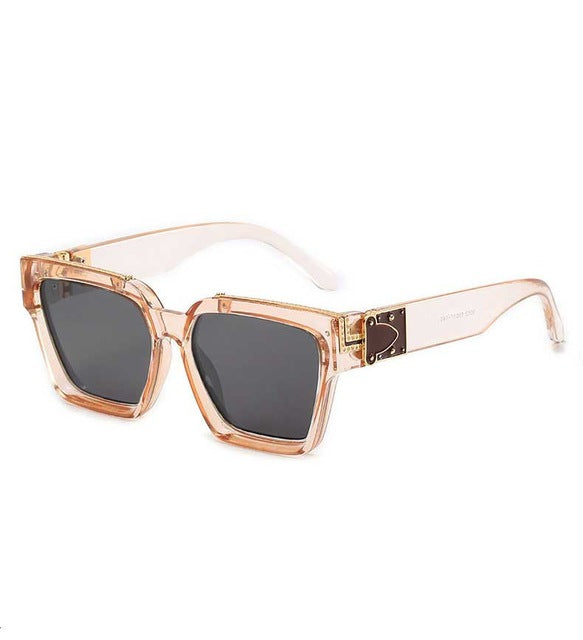 Calanovella 10 Color Vintage Eighties Retro Square Sunglasses Trendy Men Women Sun Glasses UV400 black,gradient black,red frame,transparent brown frame brown lens,leopard,green,black clear,white frame black lens,white frame brown lens,transparent brown frame black lens 34.99 USD