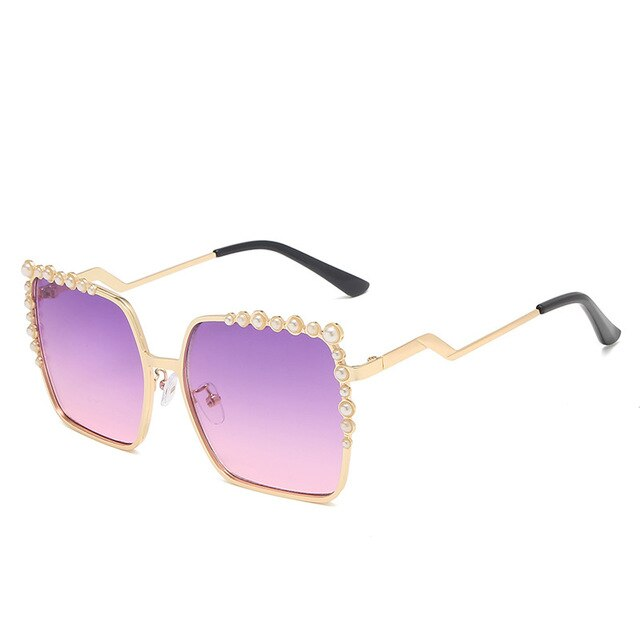 Calanovella Women Sunglasses Handmade Pearl Fashion UV400