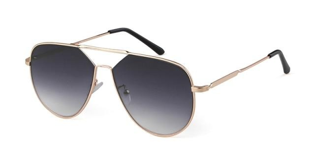 Calanovella Fashion Oversized Designer Aviator Sunglasses Classic Pilot Frame Gradient Lens Sun Glasses UV400