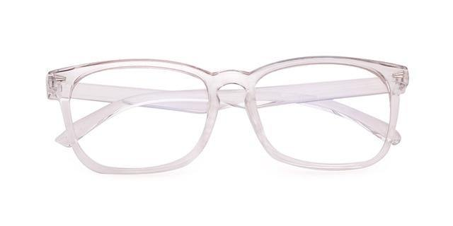 Calanovella Computer Eyeglasses Anti Blue Light Blocking Glasses for Men Women Square Rectangle Clear Lens - Calanovella.com
