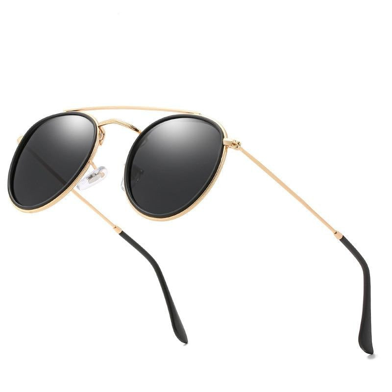 Calanovella Round Sunglasses Fashionable Eighties Retro Oval Round Sunglasses Polarized Men Women 2020 Design Mirror Lens Cool Circle Frame Sun Glasses GOLD GREEN,GOLD GRAY,GOLD BROWN,BLACK GREEN,MIRROR PINK,BLUE,BLACK GRAY 34.99 USD