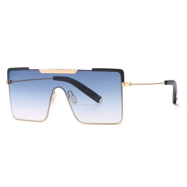 Calanovella Oversized Square Sunglasses Men Women 2020 New Fashion Female Vintage Big Frame Sun Glasses UV400 silver black gray,gold red,gold black gray,gold pink,gold blue,gold green,gold brown 34.99 USD