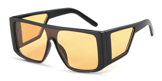 Calanovella Oversized Square Sunglasses Designer Men Women Stylish Shades UV400