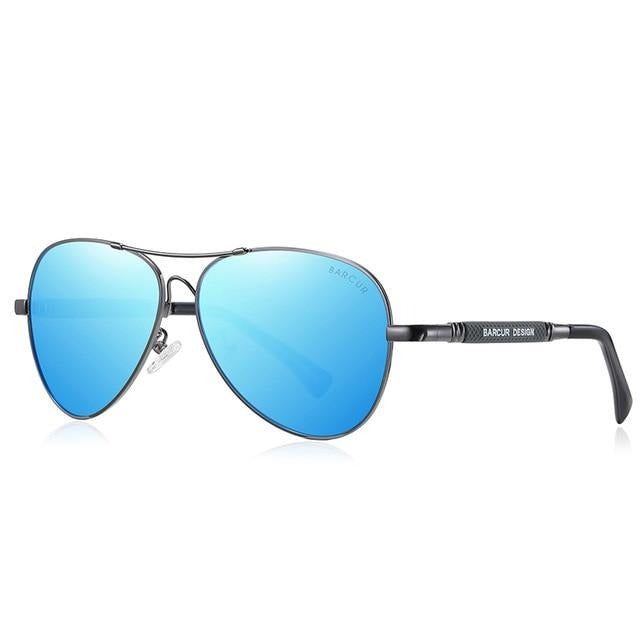 Calanovella Cool Stylish Pilot Polarized Anti Blue Light Sunglasses UV400