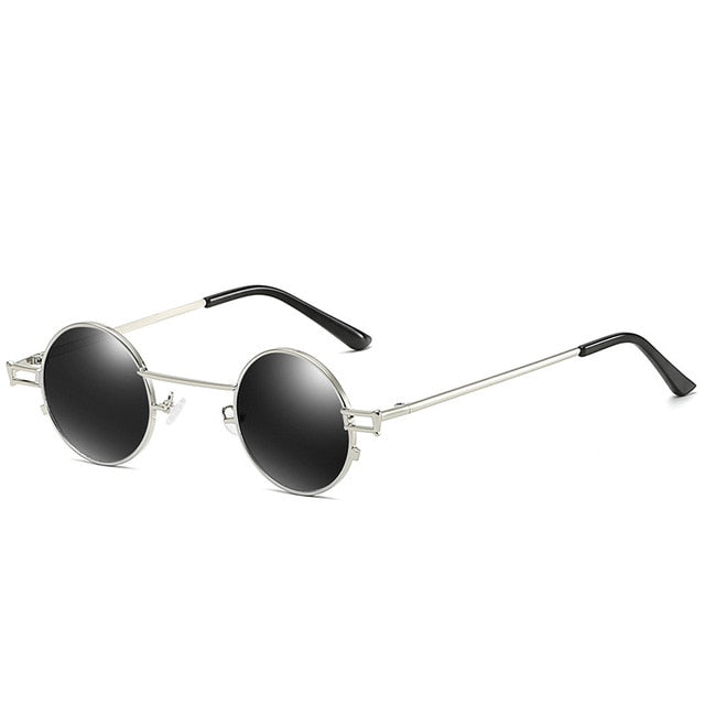 Calanovella Stylish Small Retro Round Sunglasses