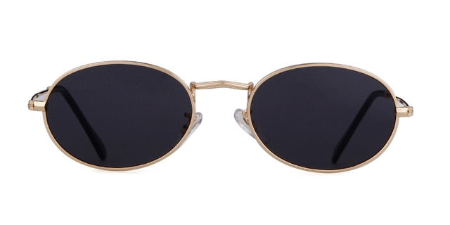 Calanovella Small Oval Sunglasses Vintage Stylish UV400