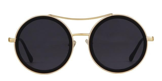 Calanovella Round Sunglasses Men Women Sunglasses Cool Oval Round Sunglasses for Men Women 2020 Red Green Metal Frame Oval Round 90s Vintage Retro Sun Glasses UV400 black,brown,white black,yellow,red green 39.99 USD