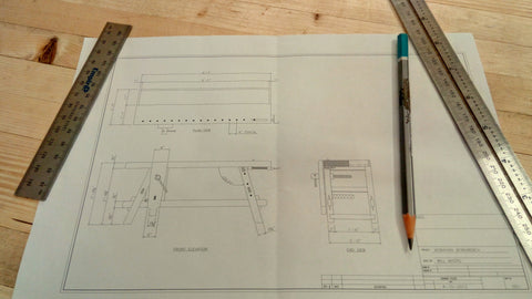 Plans for the Moravian workbench