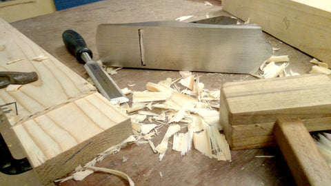 Tenon with really smooth cheeks