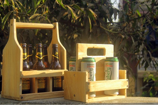 Make your own beer tote