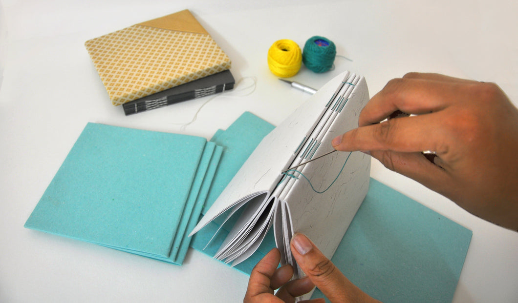 Make your own hand bound books