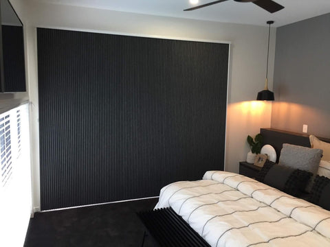 blackout blinds in bedroom