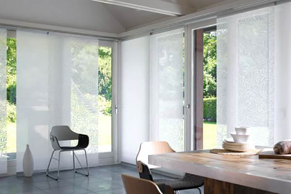 Panel Glide Blinds For Large Windows And Sliding Doors