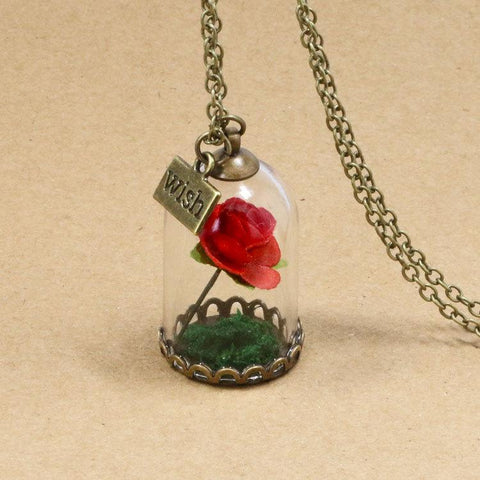 Accessoires - Collier - Rose Christmas