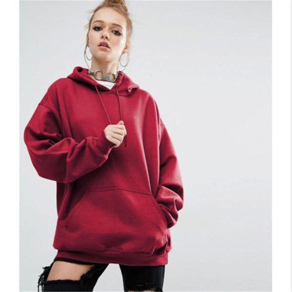 Pulls & Sweats - Sweat - Red Loose