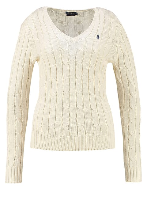 Womens Lauren Kimberly Cream Polo Jumper Ralph CoWdxerB