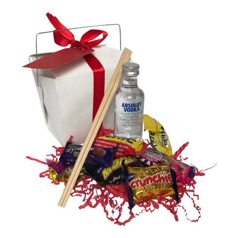 Small Mini Absolut Vodka Gift Hamper