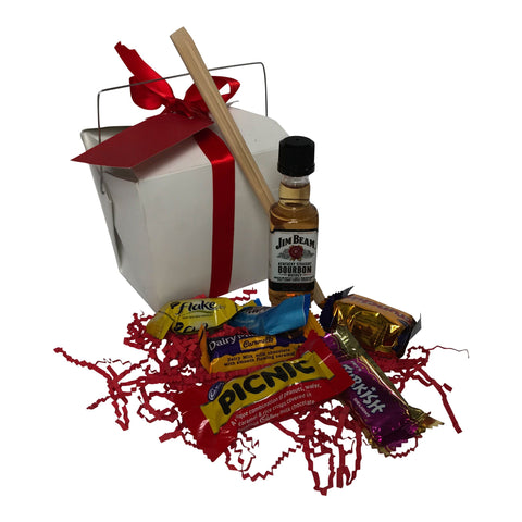 Small Mini Jim Beam Gift Hamper