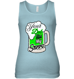 Dub In My Stiffy - Womens Fitted Tank