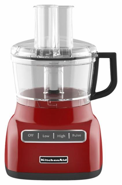 KitchenAid - KFP0711ER 7-Cup Food Processor - Empire Red