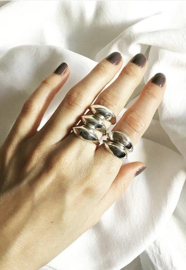 Sculpted Ring - Atelier Mach