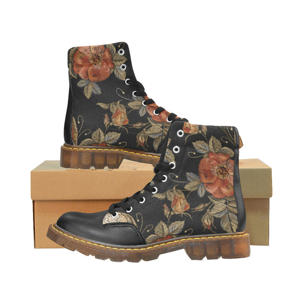 Boots Rock Flowers