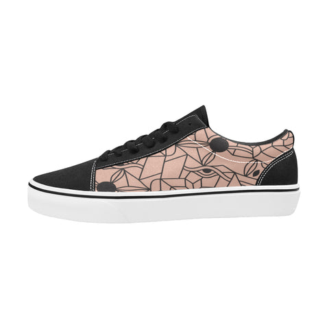 Chaussures Original Low Top Cubisme Pink Black