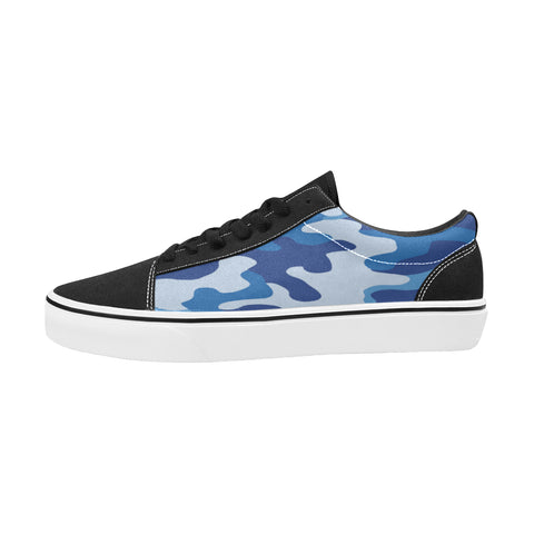 Chaussures Original Low Top Camo Blue - Homme>Chaussures>Low-Tops - Urban Corner