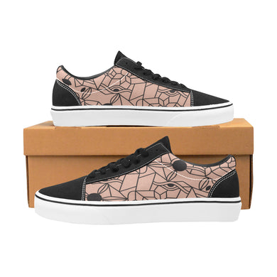 Chaussures Original Low Top Cubisme Pink Black - urban-corner.com