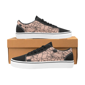 Chaussures Original Low Top Cubisme Pink Black - Femme>Chaussures>Low-Tops - Urban Corner