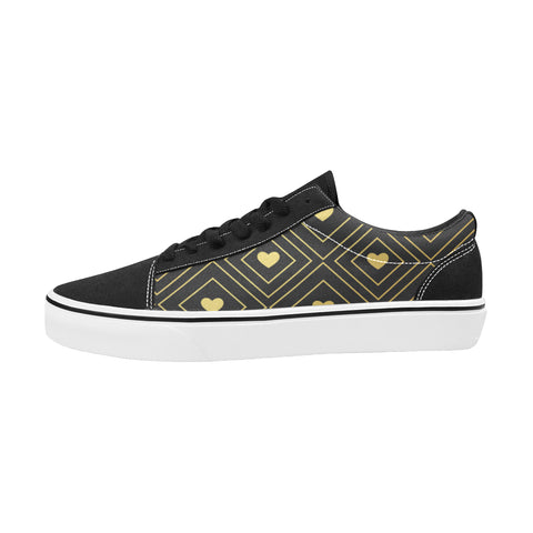Chaussures Original Low Top Goldy Heart Black