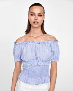 ZA Inspired Off Shoulder Top