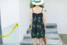 Tropical Floral Print Dress