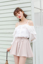Summer Off Shoulder Top with Flare sleeves