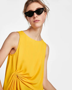 ZA Inspired Draped Top