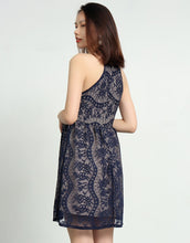 Alia Sleeveless Lace Dress