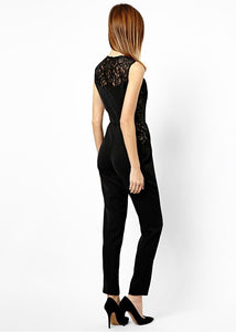 ASOS Inspired Jumpsuit with Lace Side Panel