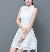 Olivia Sleeveless Cheong Sam Dress