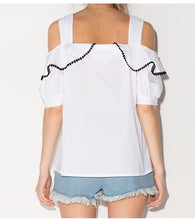 Jennie Shoulder Cut Beach Top