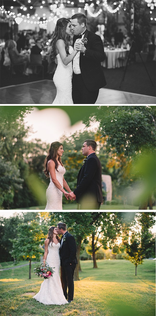 Real Wedding Inspiration: Connie + Kent's Minneapolis Wedding