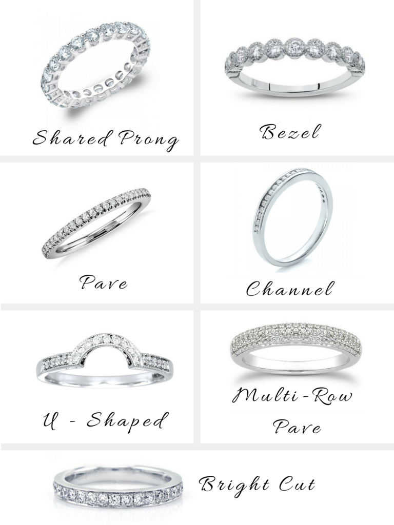 14 Tips on Picking the Perfect Wedding Band for Your Engagement Ring