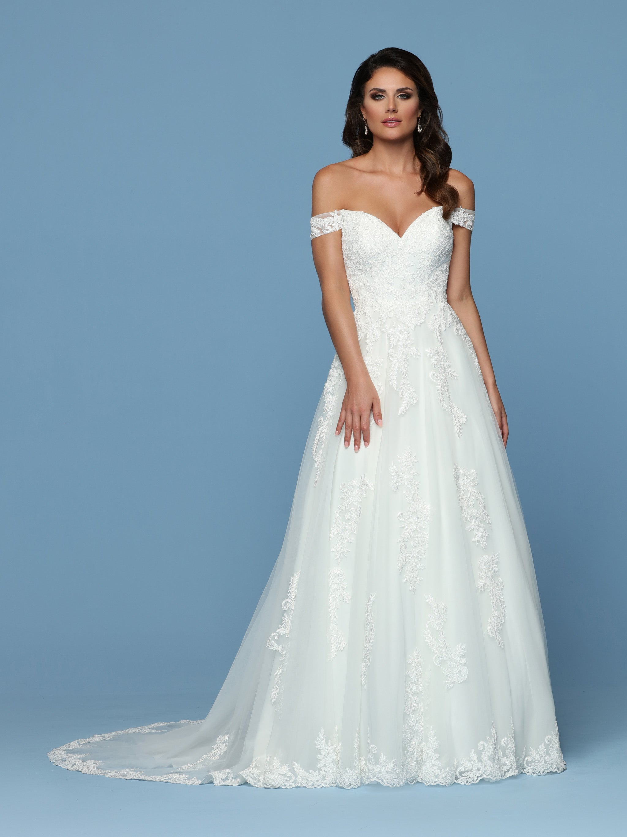 Off the Shoulder Wedding Dresses & Gowns for 2020